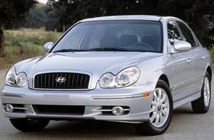 现代 索纳塔 2004款 2.0L 自动 GL标准型